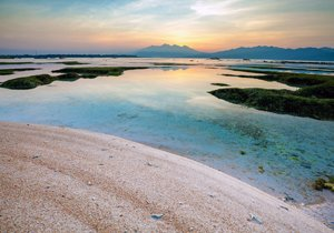 Gili Trawangan sunset & beach