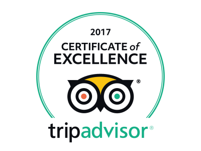 Certificate of Excellence 2017 - BlueWater Express