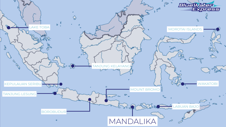Indonesia's plan to make of these 10 destinations new Balis. Mandalika beach in Lombok is one of them.