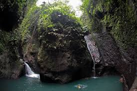 Aling-Aling is a local sacred waterfall and four other falls provide options for swimming and cliff jumping
