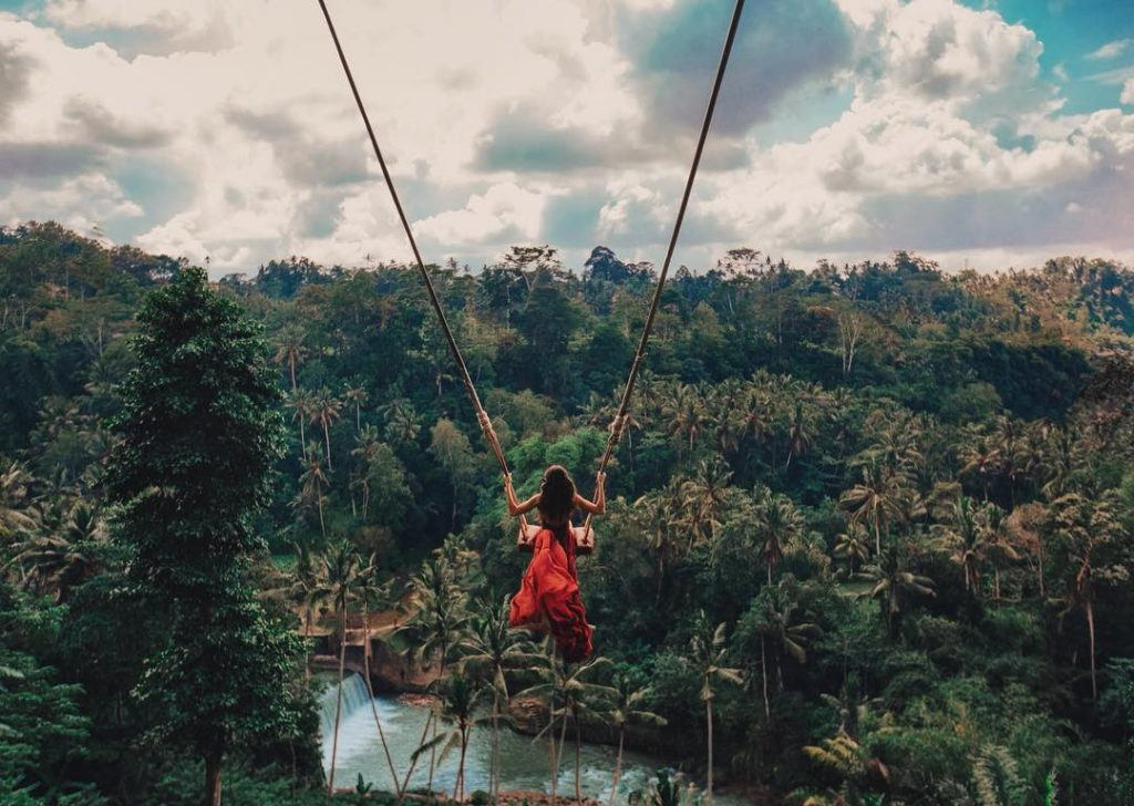 For the more relaxed adventure lovers among us, experiencing the stunning scenery of Bali by swing is something not to be missed.