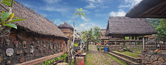One of the oldest and most traditional villages in Bali, also claiming the creation of the most expensive Indonesian textile